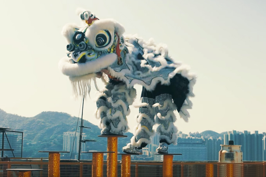 How adidas Is Helping to Modernize the Ancient Chinese Tradition of Lion Dancing
