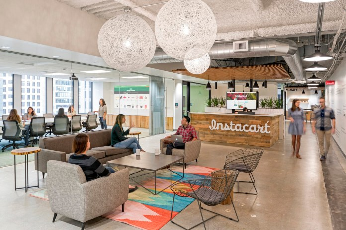 Inside the San Francisco Office of Instacart