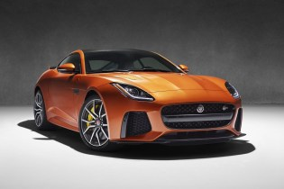 Jaguar's 200 mph F-Type SVR to Debut at Geneva Motor Show