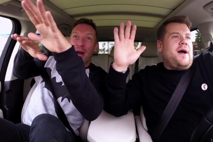 "James Corden Picks up Coldplay's Chris Martin for Some ""Carpool Karaoke"""