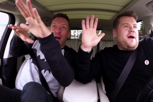 "James Corden Picks up Coldplay's Chris Martin for Some ""Carpool Karaoke"""