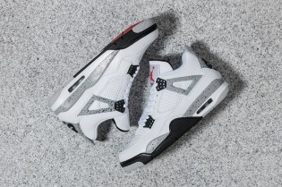 "A Closer Look at the Air Jordan 4 ""White Cement"""