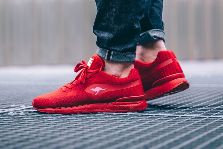 "KangaROOS Coil-R1 Woven ""Flame Red"""