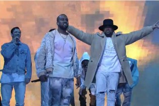 "Watch Kanye West Perform ""High Lights"" With The-Dream, El DeBarge, Young Thug and Kelly Price on 'SNL'"