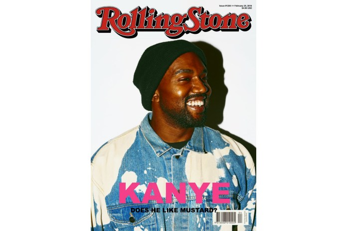UPDATE: Kanye West Photographed by Tyler, The Creator for 'Rolling Stone' Magazine Is a Mock