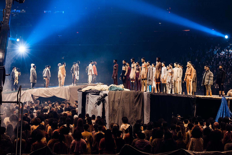 Kanye West Unveils Yeezy Season 3 at Madison Square Garden