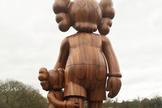 KAWS Exhibition at Yorkshire Sculpture Park is the UK's First Look at the Playful Works of Art