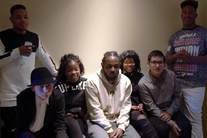 Kendrick Lamar Celebrates Grammy Success with Compton High School Students
