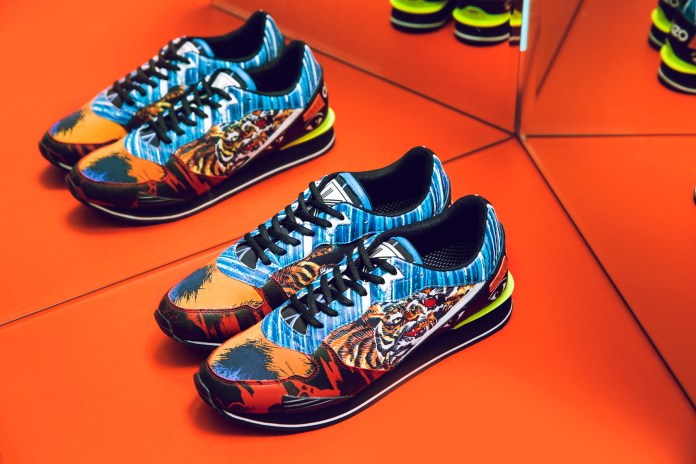 KENZO 2016 Spring/Summer Footwear Collection