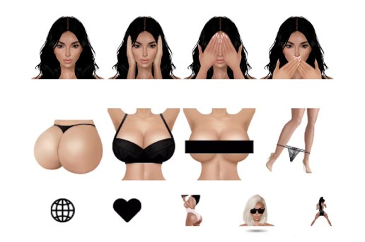 The KIMOJI App Gets an Update, Becomes Number 1 on App Store