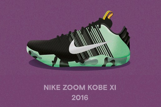 Check out a Retrospective of Kobe's Player Exclusive All-Star Sneakers