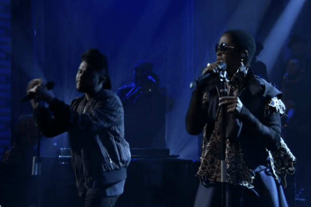 """Lauryn Hill Joins The Weeknd for """"In The Night"""" Live on Jimmy Fallon"""