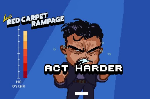 Help Leonardo Dicaprio Finally Win an Oscar in 'Leo's Red Carpet Rampage'