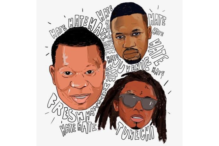 "Lil Wayne Reunites With Birdman, Juvenile & Mannie Fresh on ""Hate"""