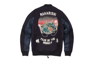 maharishi Rings in the Chinese New Year With an Embroidered Tour Jacket
