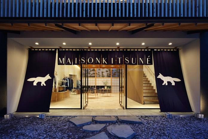 Maison Kitsuné Opens Boutique in Daikanyama