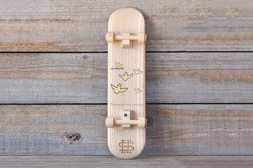 Mark Gonzales x SEE SEE Vase and Skateboard
