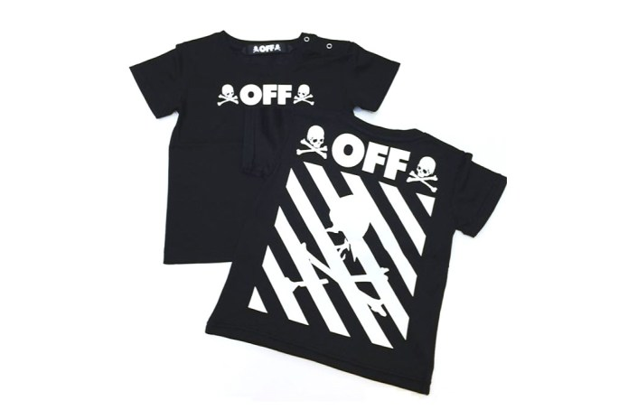 A First Look at the mastermind JAPAN x OFF-WHITE Collaboration
