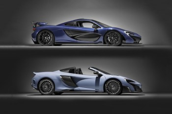 McLaren's 675LT Spider & P1 Hypercar in Pure Carbon Fiber Are a Sight to Behold