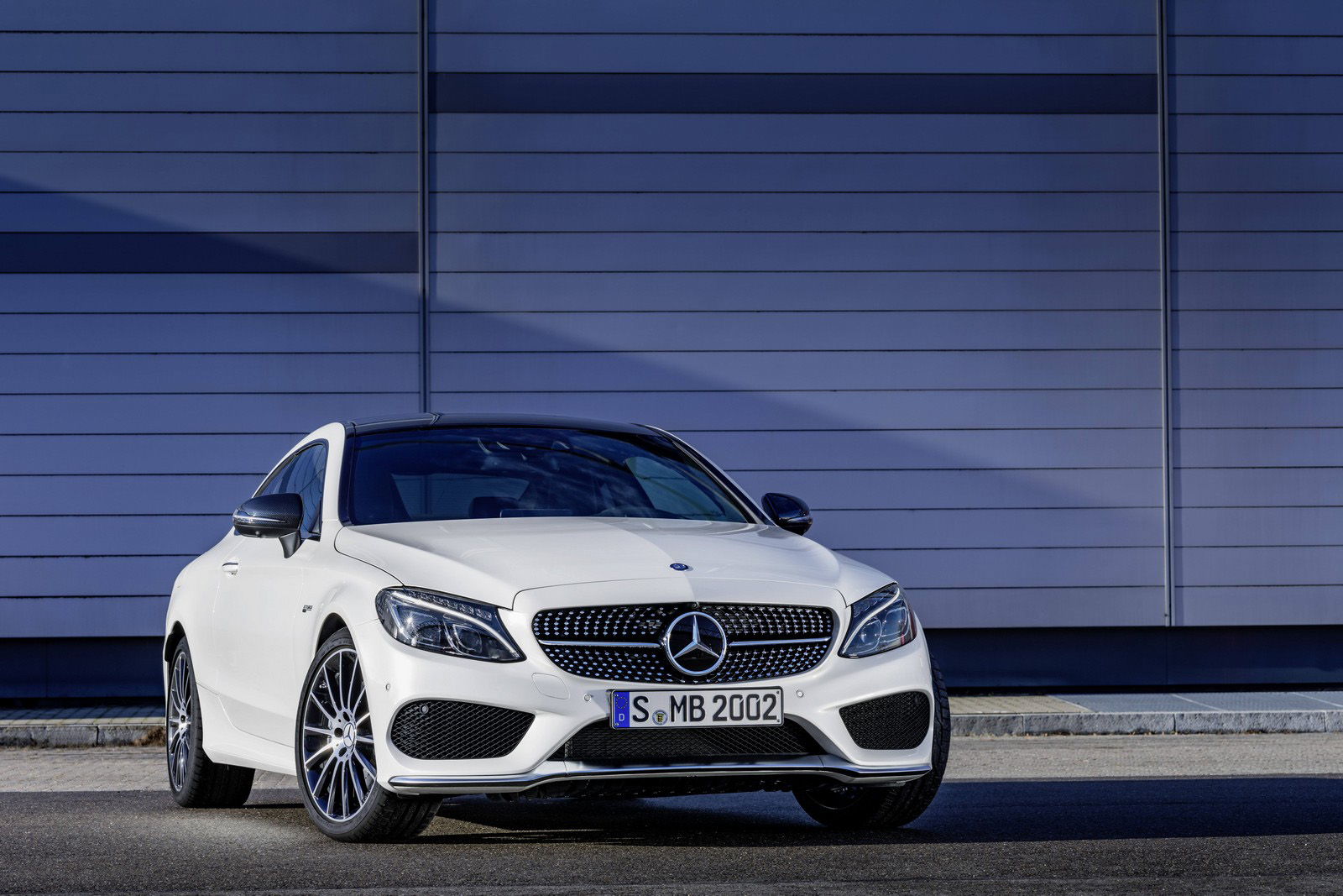 Mercedes' New C43 AMG Coupe Is Ready to Run Alongside Its Sports Car Rivals