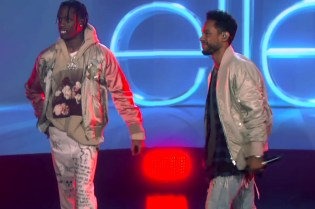 "Miguel Hits 'The Ellen Show' to Perform ""Waves"" Alongside Travis Scott"