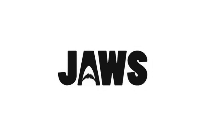Movie Titles Written with Negative Space Are Both Simple and Clever
