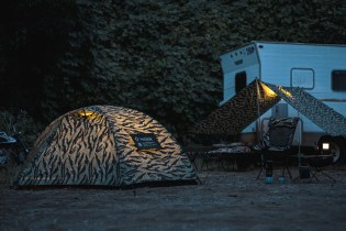 "NEIGHBORHOOD x Helinox ""TIGER"" Tent & Camping Equipment Set"