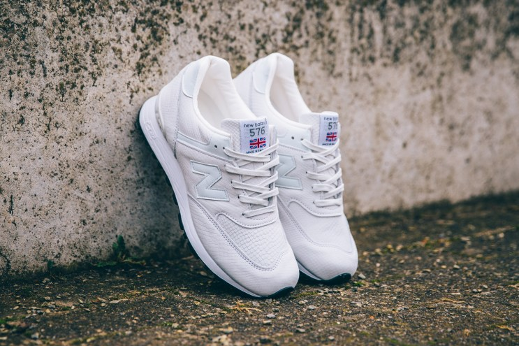 "New Balance's WMNS 576 NRG ""Made in England"" Pack is So Clean"