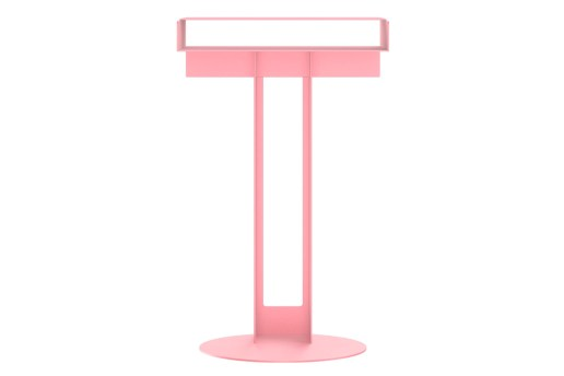 NEW TENDENCY Releases Signature META Side Table in Seasonal Pink