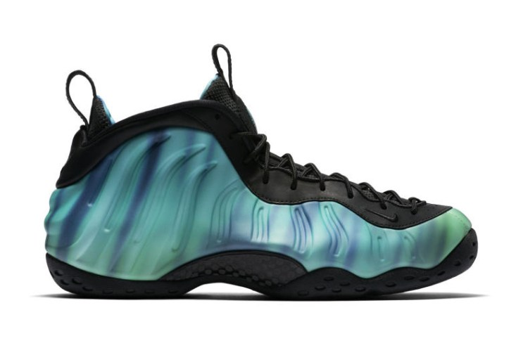 The Nike Air Foamposite One Meets the Aurora Borealis