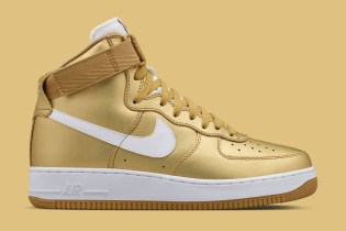 "Nike Air Force 1 High ""Metallic Gold"""