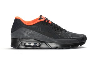 Nike's Air Max 90 Ultra Moire FB Is Delivered in Black Crimson