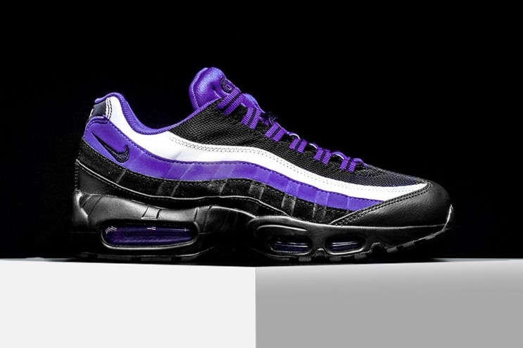 "The Nike Air Max 95 Arrives in a Striking ""Persian Violet"""
