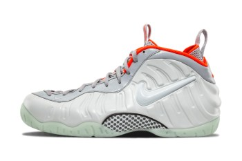 "Nike Officially Unveils Its Air Yeezy 2-Inspired ""Pure Platinum"" Foamposite Pro"