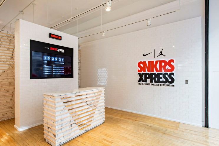 Take a Look Inside Nike's Toronto Transit-Themed SNKRS XPRESS Pop-Up in NYC