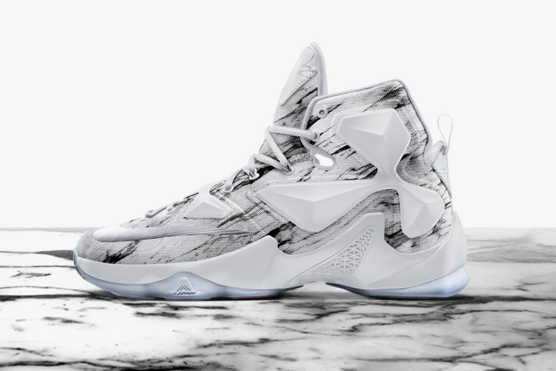 """Nike's LeBron 13 Gets the """"Mineral"""" Treatment"""