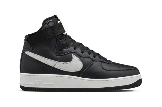 NikeLab Air Force 1 High Retro QS Black/Summit White