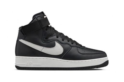 NikeLab Air Force 1 High Retro QS Black/Summit White