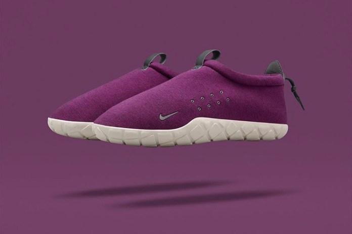 NikeLab Introduces the Air Moc Fleece