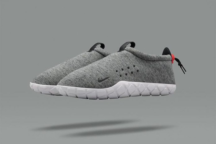 NikeLab's Sleek Grey Air Moc Fleece Drops This Month