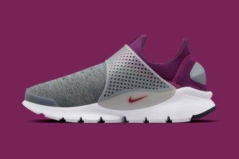 NikeLab Tech Fleece Sock Darts Arrive In Purple/Grey and Monochrome Editions