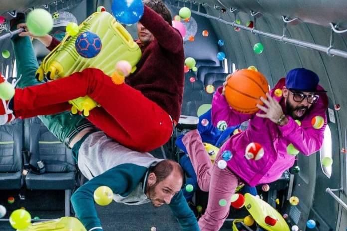 OK Go Shoots Their Latest Music Video in Zero Gravity