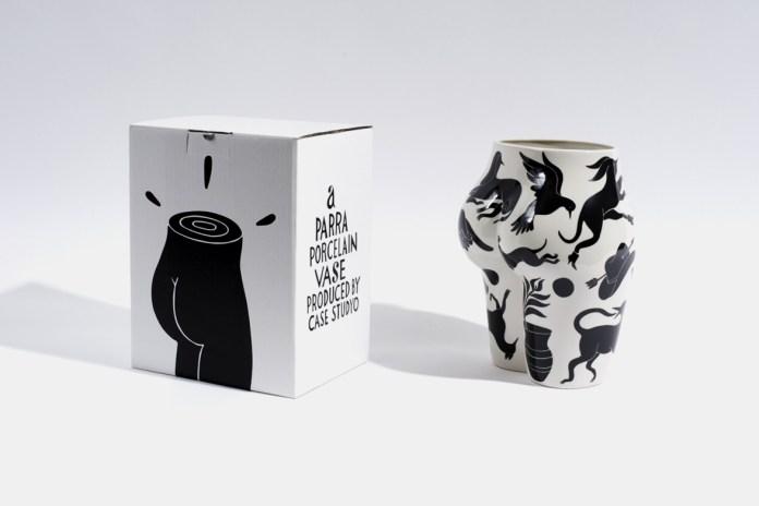 "Parra x Case Studyo Vaso di Culo ""Mural"" Vase"