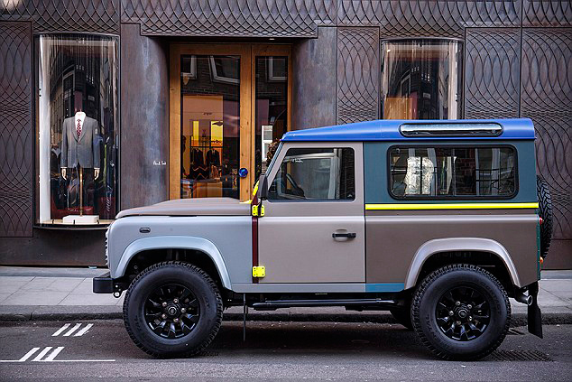 Sir Paul Smith Takes His One-of-One Land Rover Defender for a Spin