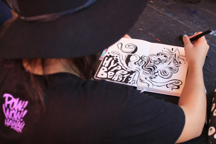 Pen & Paper: Lauren YS