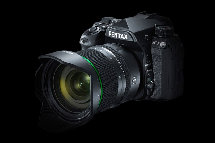 Pentax Unveils its First Full-Frame DSLR