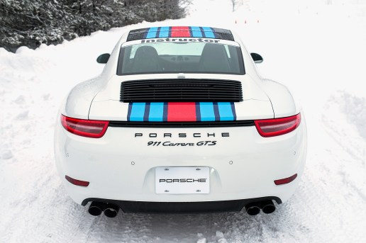 911 Ice Dance: How to Properly Drive a Porsche in the Snow