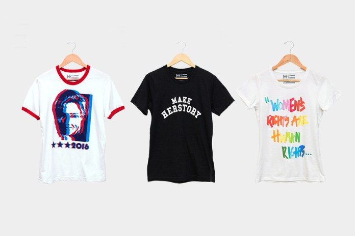 Public School and Marc Jacobs Design T-Shirts for Hillary Clinton's Campaign