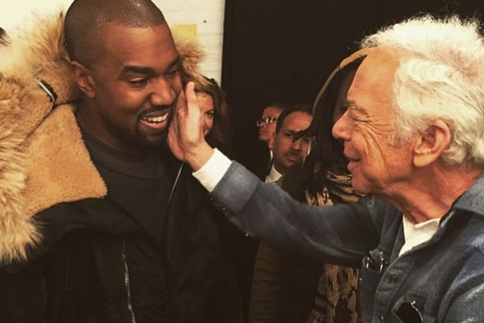 Ralph Lauren Blesses Saint West With Special 1-of-1 Jacket