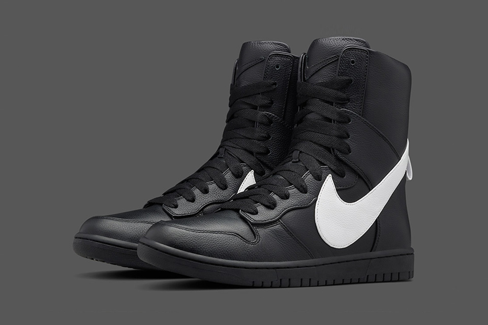 A Closer Look at the Riccardo Tisci x NikeLab Dunk Lux High